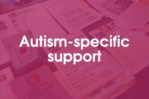 Autism-specific support