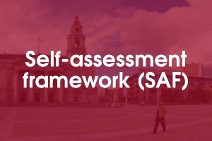 Self-assessment framework (SAF)