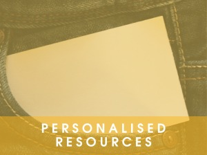 Personalised Resources
