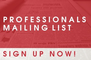 Professionals mailing list